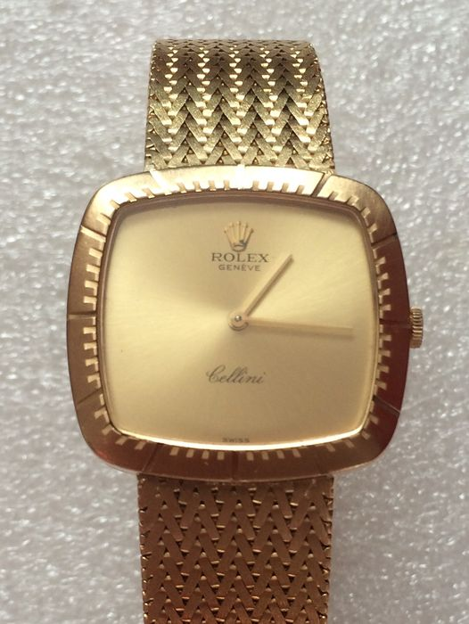 Rolex Cellini Vintage 18k Yellow Gold Mechanical Wristwatch with original  papers , Catawiki