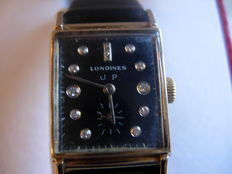 LONGINES Vintage 14kt gold Art Deco wristwatch