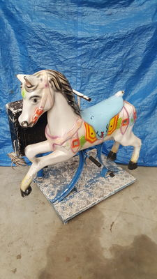 Antique horse kiddy ride