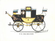 Maison Binder Frères - Catalogue of carriages - c. 1885