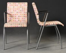 Tom Stepp for Fredericia furniture – set of 2 chairs, model 'Funk'