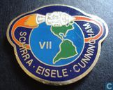 USA  Apollo VII (1st manned) Space Mission  1968