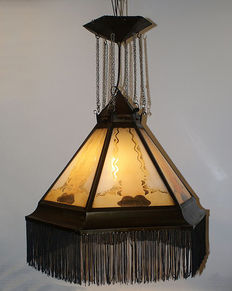Amsterdam School lamp, ca. 1925