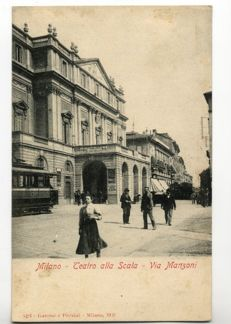 Italy-Milan 115 postcards from 1900 to 1945