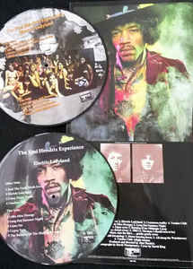Jimi Hendrix-Limited Edition Picture Disc ( 2 Lp's )  of Electric Ladyland ( Nude Cover )