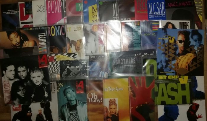 nice collection, 34 Eurohouse Singles