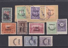 Turkey 1876/1922 and Thrace 1913/20 - a small selection