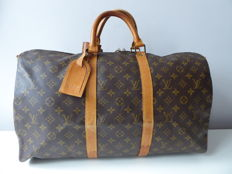 Louis Vuitton – keepall 50 – without shoulder strap