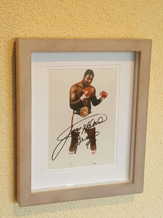 Larry Holmes - Multiple world heavyweight boxing champion and ...
