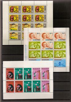 Netherlands 1965/2012 – Collection of 48 blocks and 36 miniature sheets