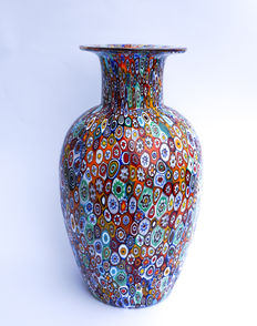Campanella (Campanella Livio) - big vase of the series Murrina Millefiori