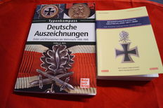 Valuation Catalogue Germany 1871-1945 Medals and Badges - Detlev Niemann Paperback + German Awards Wehrmacht medals and Decorations of the Wehrmacht 1936-1945 Paperback