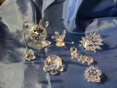 Swarovski - Small collection: Butterfly, Hedgehogs, Mice, Caterpillar and Turtle