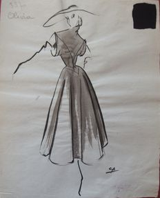 Pierre Cardin (attributed to) - Ma petite robe noire