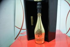 Armand de Brignac Ace of Spades Gold Brut - 1 bottle in perfect condition with wooden case