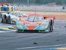 AUTOart - 1/18 scale - Mazda 787B prototype winner of the 24 h of Le Mans, 1991