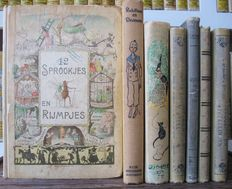 Fairy tales; Lot with 7 vintage fairy tales for children - 1878 / 1934