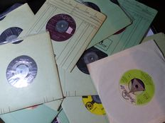 Various Jukebox Singles from the 50s/60s/70s/80s (50 singles) / 3RW1X50JB