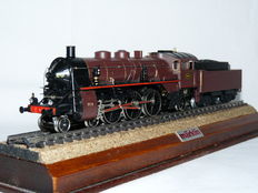 Märklin H0 - 3111 - Steam locomotive with tender of the Belgian Railways special issue 1982, with smoke generator