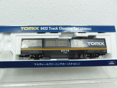 Tomix N - 6421 - Vacuum cleaner/rail cleaning wagon