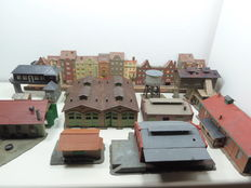 Vollmer/Kibri N - Town houses and functional buildings