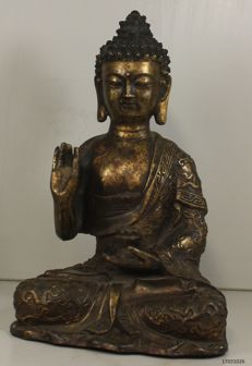 Bronze Buddha – China – Late 20th century