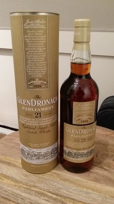 Glendronach 21 years old Parliament - single malt Scotch whisky