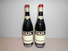 1967 , 1969  Gaja Barbaresco DOC, Piedmont, Italy  - 2 Bottles in total x 72 cl.