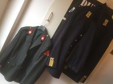 Dutch Guard Hunter uniform consists of jacket, pants and tie and a jacket of the OOCL