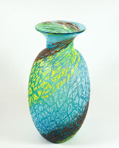 Silvano Signoretto - big exclusive vase, Ghiaccio series, 1960s