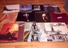 Eric Clapton - 11 LP Album Lot Including; 461 Ocean Boulevard, Journeyman, Backless, No Reason To Cry, Slowhand And Many More!