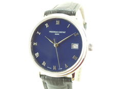 Frederique Constant - Blue Dial - Men's Watch - With  Box Documentation