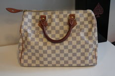 Louis Vuitton – Damier azur – Speedy 30 – Handbag