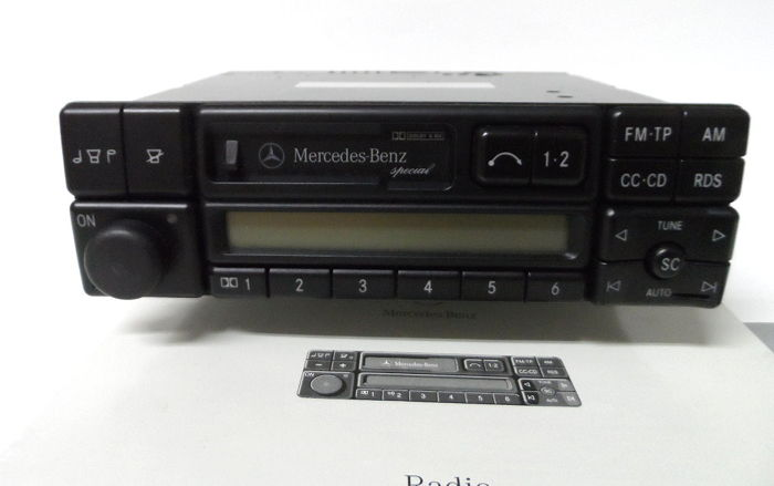 Becker radio Mercedes special BE 2210 - RDS, stereo and