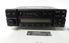 Becker radio Mercedes special BE 2210 - RDS, stereo and cassette drive of 1989