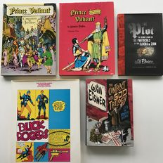 Will Eisner / Prince Valiant / Buck Rogers - 5x hc with dust jacket - (1969 / 2006)