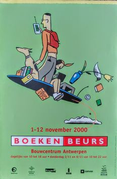 Ever Meulen, Dooreman, Tom Schamp and others - 5 x Book Fair - 2000-2012