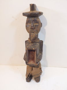Old Statue - Teke - DR Congo - Africa