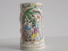 Paint pot - bitong - China - ca, 1900.