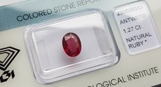 Ruby - 1.27 ct