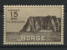 Norway 1875/1942 - Collection on home-made album sheets and cards