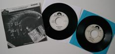 The Beatles - Mono Vinyl - 2 rare Polydor White Label PROMO'S and 1 PROMO The Beatles Story  Cavern '63 - Nems Records