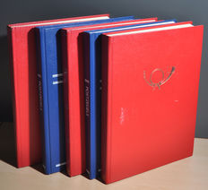 World - batch with countries, collection in various stock books.