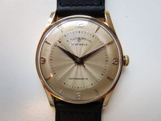 Sully 18 kt rose gold – Swiss men's wristwatch – 1950s