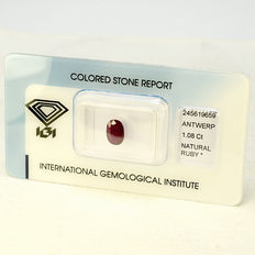 Ruby – 1.08 ct