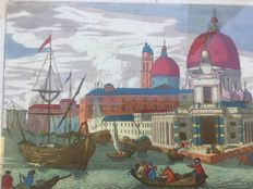 Martin Engelbrecht (1684-1756) - The customs of Venice