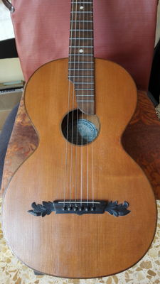 Braun Hauser München Parlor guitar from the late 1800 - Germany