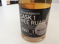 "Very rare Bruichladdich whisky - Cask 1 - ""Wee Ruari"""