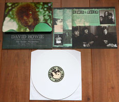 """David Bowie & John """"Hutch"""" Hutchinson – My Secret Memories (The Space Oddity Demos)/ Limited, hand-numbered edition of 300 copies worldwide on coloured wax/ W. textured envelope cover & 3 laminated cardboard inserts/ NEAR MINT"""