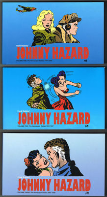 Johnny Hazard: The Newspaper Dailies - Volume 1 + 2 + 3 - 3x hc - (2011 / 2014)